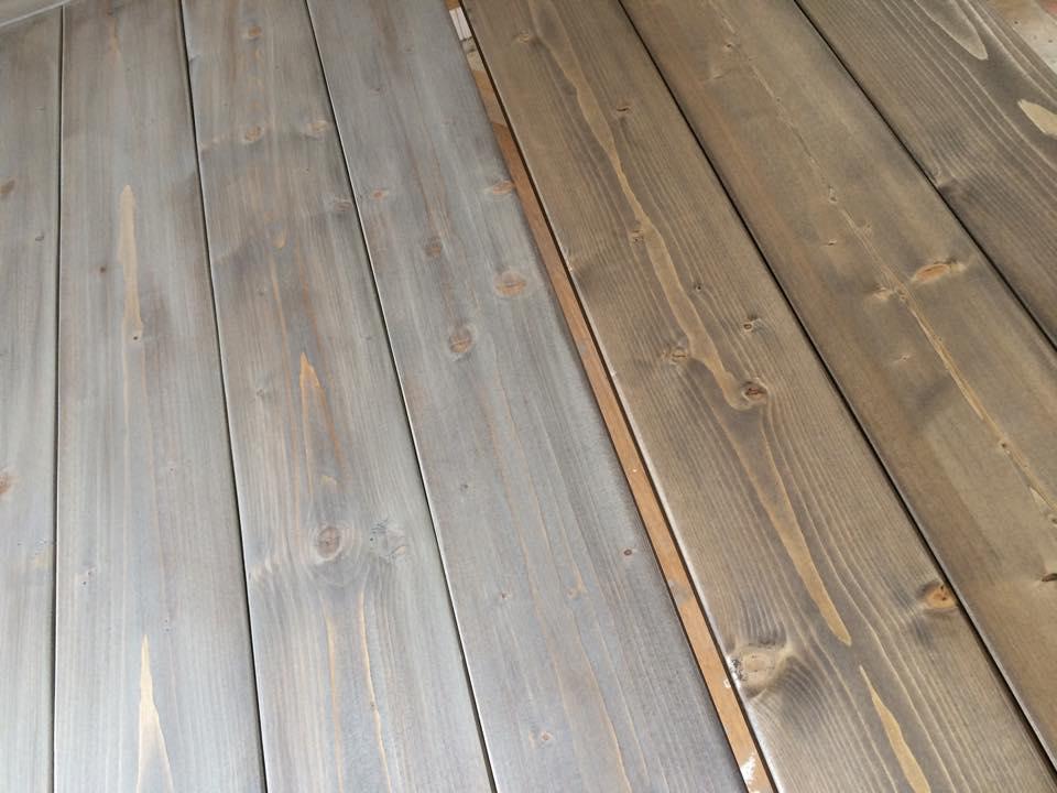 Jotun interiørbeis patinagrå